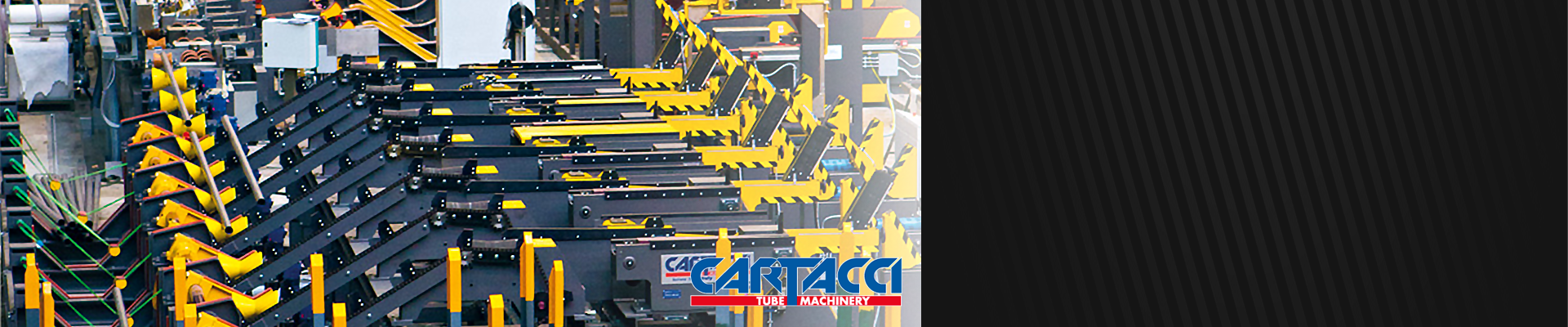 Cartacci, Lines for cold leveling, handling and packaging of pipelines.