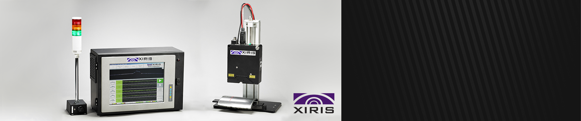 XIRIS, Laser equipment for process control in tube mills.
