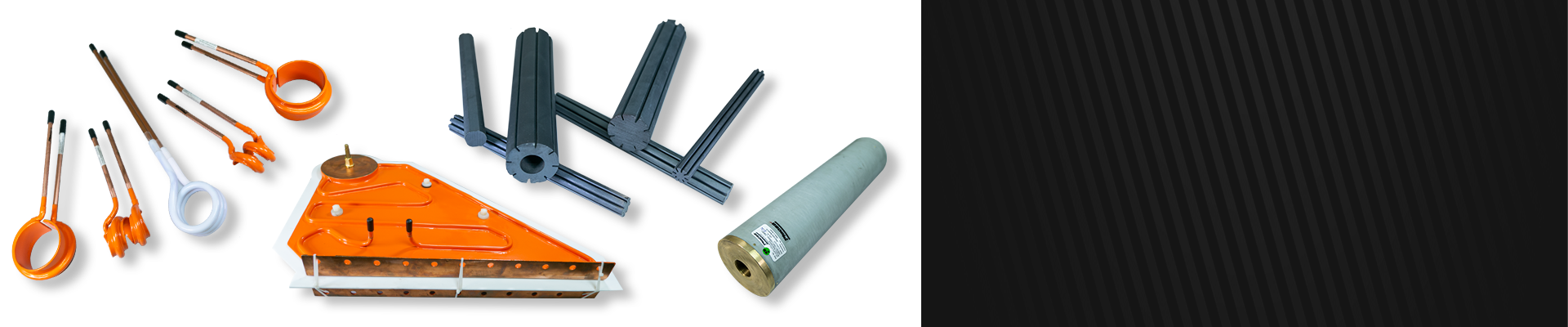 Piecsa, Consumables for welding pipe by induction.